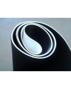 commercial running belt life precor technogym
